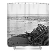Leftovers From Hurricane Sandy Shower Curtain