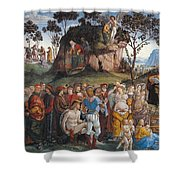 Legacy And Death Of Moses Shower Curtain