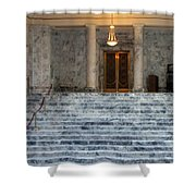 Legal Steps Shower Curtain