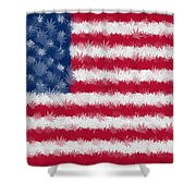Legalize This Flag Shower Curtain