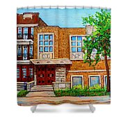 Legare And Hutchison Synagogue Montreal Shower Curtain