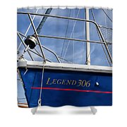 Legend 306 Shower Curtain