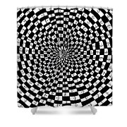 Legend Of An Abstract Artist Shower Curtain