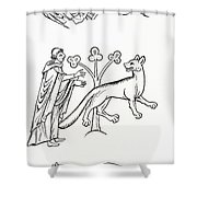 Legend Of The Priest And People Changed Shower Curtain