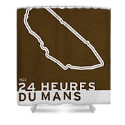Legendary Races - 1923 24 Heures Du Mans Shower Curtain