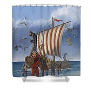 Legendary Viking Shower Curtain