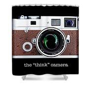 Leica M7 Shower Curtain by Dave Bowman
