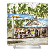 Leipers Fork Market Shower Curtain