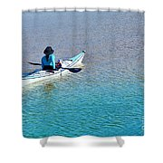 Leisure On The Lake Shower Curtain