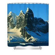 Lemaire Channel Antarctica Shower Curtain