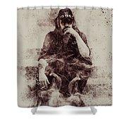 Lemmy Shower Curtain