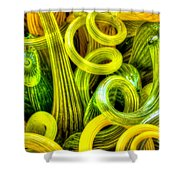 Lemon And Lime Shower Curtain