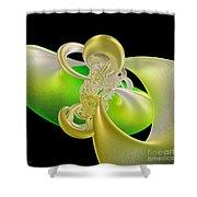 Lemon Lime Twist Shower Curtain