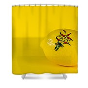 Lemon Fate From Tattoo Series Shower Curtain