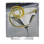 Lemontini Shower Curtain