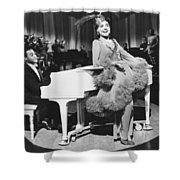 Lena Horne In Stormy Weather Shower Curtain