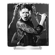Lene Lovich Shower Curtain