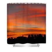 Lenticular Sunrise Shower Curtain