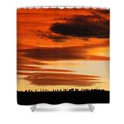 Lenticular Sunset 1 Shower Curtain