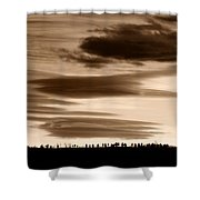 Lenticular Sunset 2 Shower Curtain