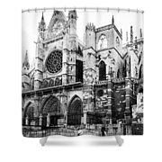 Leon Cathedral Shower Curtain