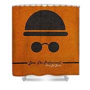 Leon The Professional Shower Curtain
