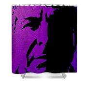 Leonard Cohen Shower Curtain by John  Nolan