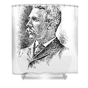Leonard Wood (1860-1927) Shower Curtain