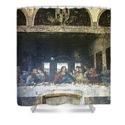 Leonardo Da Vinci's Last Supper Shower Curtain