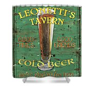 Leonetti's Tavern Shower Curtain