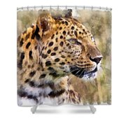 Leopard 7 Shower Curtain