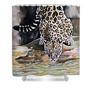 Leopard N.2 Shower Curtain