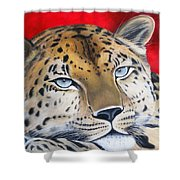 Leopardo Shower Curtain