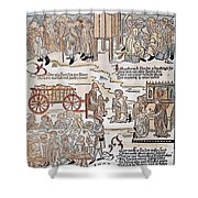 Lepers, 1493 Shower Curtain
