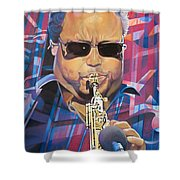 Leroi Moore And 2007 Lights Shower Curtain