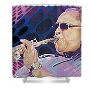 Leroi Moore-op Art Series Shower Curtain