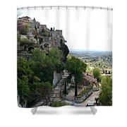 Les Baux De Provence Shower Curtain