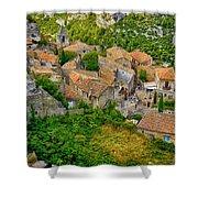 Les Baux De Provence France Dsc01915 Shower Curtain