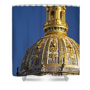 Les Invalides Dome Shower Curtain