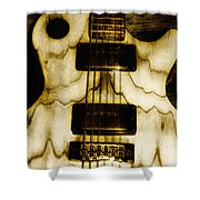 Les Paul - Blondes Have More Fun Shower Curtain