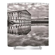Les Templettes Shower Curtain