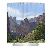 Db5956-leslie Gulch Shower Curtain