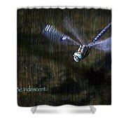Lessons From Nature 1 - Be Iridescent Shower Curtain