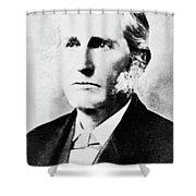 Lester Frank Ward (1841-1913) Shower Curtain