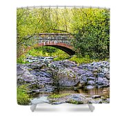 Lester Park Bridge Shower Curtain