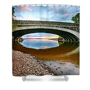 Lester River Mouth Shower Curtain