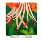 Let It All Hang Out - Paint Shower Curtain