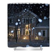 Let It Snow Shower Curtain