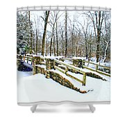 Let It Snow Let It Snow Shower Curtain