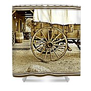Let The Old Times Roll Shower Curtain